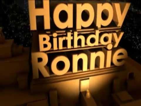 Birthday Cake For Ronnie : Happy Birthday Roni Doovi