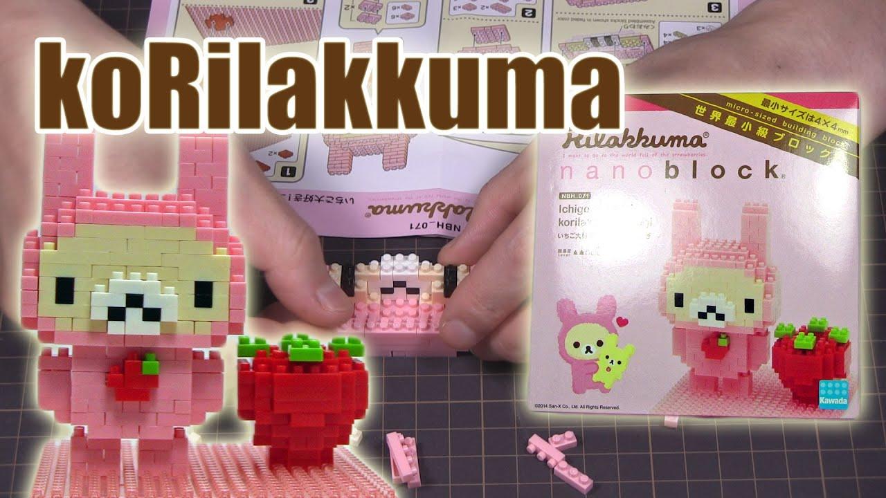 korilakkuma usagi nanoblock NBH/_071 Ichigo daisuki