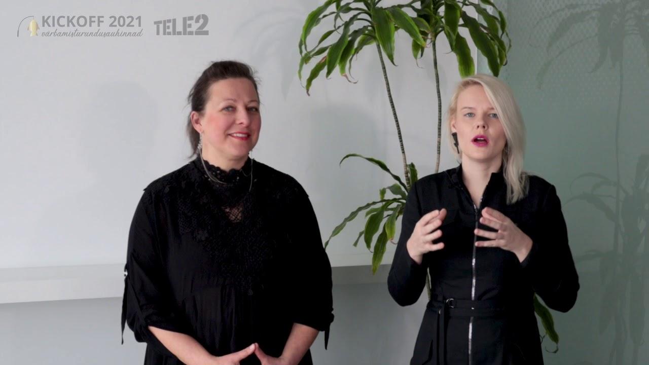 Kickoff 2021 II koht - Tele2 Eesti ''Põhjusega mässaja''