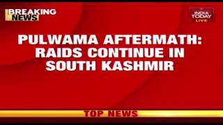 Raids Continue In South Kashmir After Pulwama Attack thumbnail