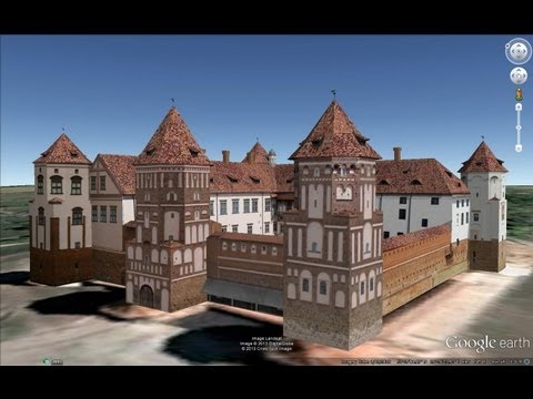 HISTORICAL PLACES OF BELARUS IN GOOGLE EARTH