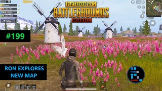 PUBG MOBILE | RON IS EXPLORING NEW LIVIK MAP WITH AMAZING CHICKEN DINNER