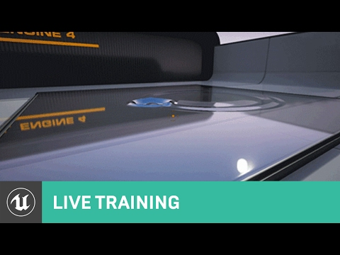 Blueprint Drawing to Render Targets Overview | Live Training | Unreal Engine