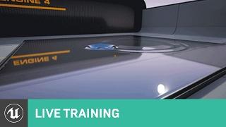 Blauwdruk Tekening te maken-Doelen-Overzicht | Live Training | Unreal-Engine