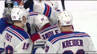 Rangers at Flyers - 2/6/16 - Keith Yandle goal