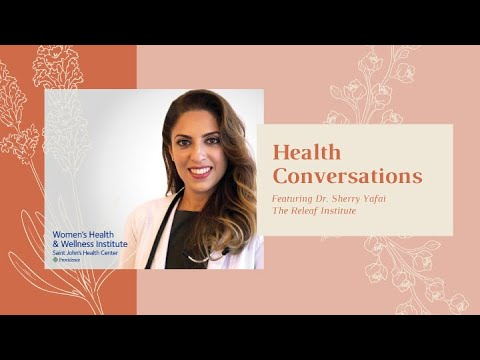 WH&WI Health Conversations, ft. Dr. Sherry Yafai from The Releaf institute