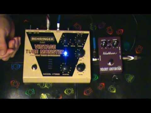 Washburn Soloist vs Behringer Tube Monster