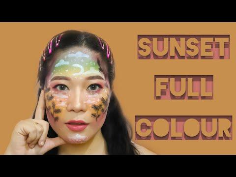 Makeup Art Sunset Full Colour