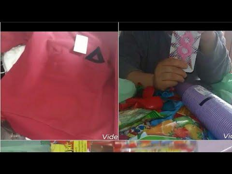 مشتريات حفل عيد ميلاد بنتي الصغيرة Youtube