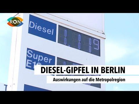 Diesel-Gipfel in Berlin | RON TV | Sendung vom 02.08.2017