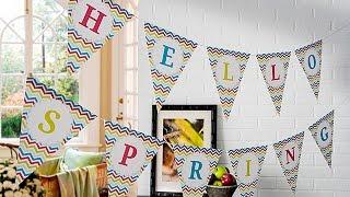 ''Hallo Lente!'' Gratis Printbare Lente Banner