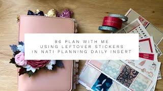 B6 Plan Met Mij In Nati Planning Dagelijks Invoegen | Met Overgebleven Kit van Blackbird PrintCo #b6PWM