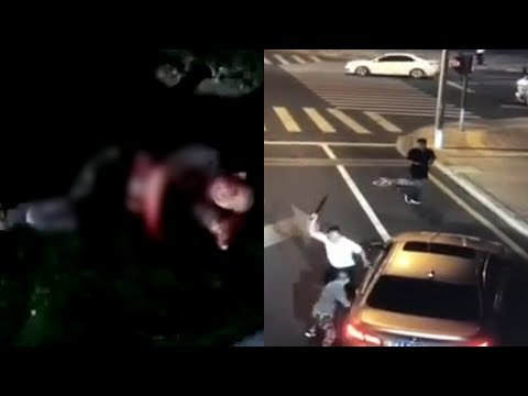 BMW driver killed with own knife after road rage incident