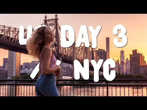 LOST + BROKE IN QUEENS! | USA VLOG DAY 3 // NYC