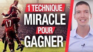 1 TECHNIQUE MIRACLE pour GAGNER dans les PARIS SPORTIFS (Maxence RIGOTTIER)