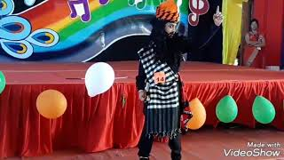 khali Bali Dance / Vedant Maru winner of solo dance NBI School Rajnandgaon got 1st prize 8Sept2018