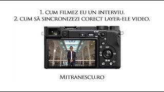 Als ik het filmen heb ik een sollicitatiegesprek | hoe de synchronisatie van de juiste lagen van de video