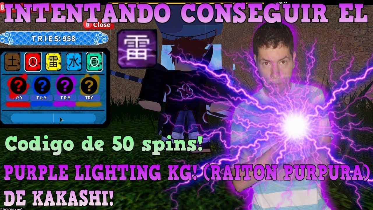 Intento Conseguir El Nuevo Kg Purple Lighting Codigo De 50
