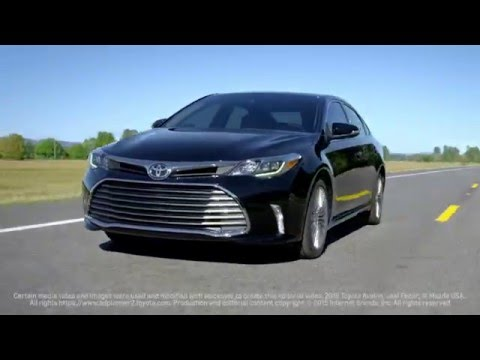 2016 Toyota Avalon Review