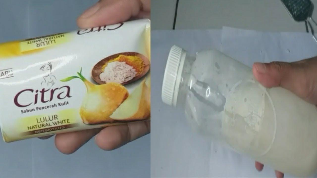 Cara Buat Sabun Batang Menjadi Sabun Cair Simple Youtube