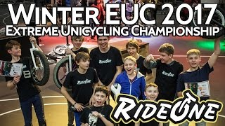 Winter EUC 2017 | Extreme Unicycling Championship | RideOne Unicycling