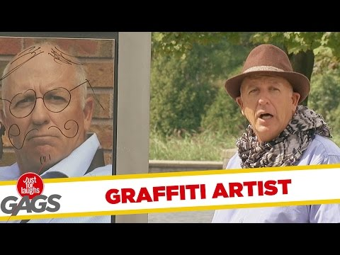 Instant Accomplice - Graffiti Artist Prank