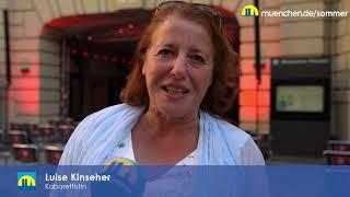 Sommer In der Stadt: Luise Kinseher zum Kulturprogramm