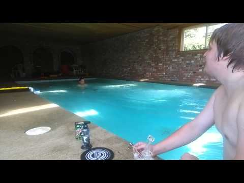 Pool sesh with Archie! Passed 10k subs!