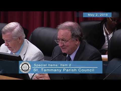 St. Tammany Parish Council Meeting 05/02/2019