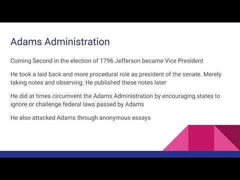 Presidents of the United States: Thomas Jefferson