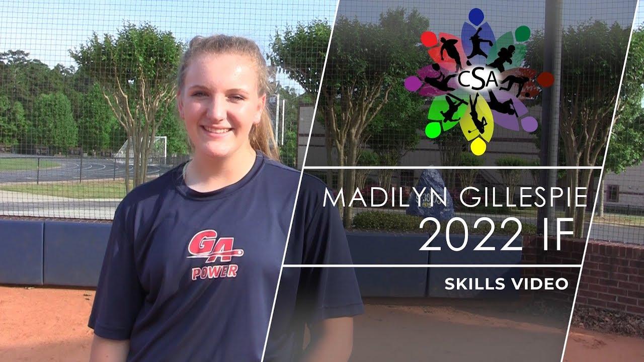 Madilyn Gillespie - Softball - 2022 - Collegiate Sports Advocate