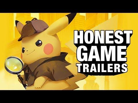 DETECTIVE PIKACHU Honest Game Trailers