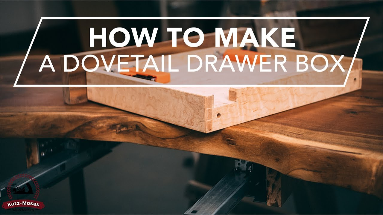 How To Make a Drawer Box for Blumotion Concealed Soft Close Drawer Slides