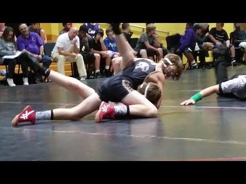 Dalvin Millhollan rockmart vs. Trion middle school wrestling