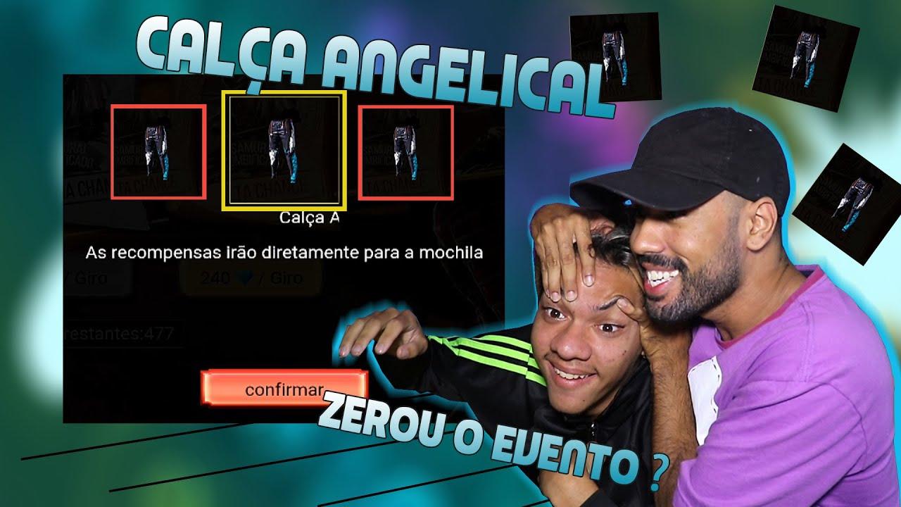 COMO GANHAR A CALÇA ANGELICAL NO FREE FIRE ( EVENTO MAGIAS PREMIADAS )
