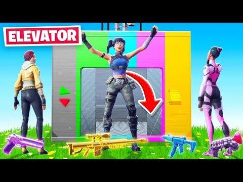 ELEVATOR For LOOT in Fortnite!