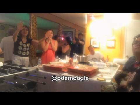 Asian family reacts to Damian Lillard's buzzer beater (Game 6 vs. Houston)