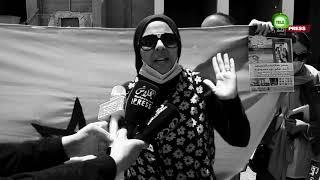 وقفة احتجاجية امام المشروع  السكني رياض البحر ببوزنيقة