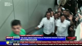 Tidak Ada Tokoh 02 Masuk Kabinet Jokowi-Ma'ruf Amin