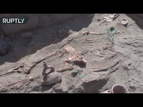 Ancient tombs unearthed in Peru
