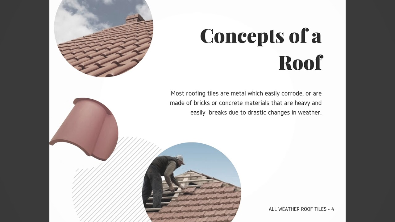 All Weather Roof Tiles   WDCD Climate Challenge