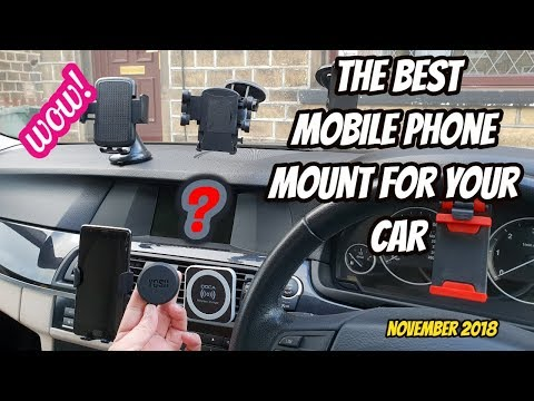 2018:-the-best-mobile-phone-car-mount-/-holders-/-qi-wireless-charger-review