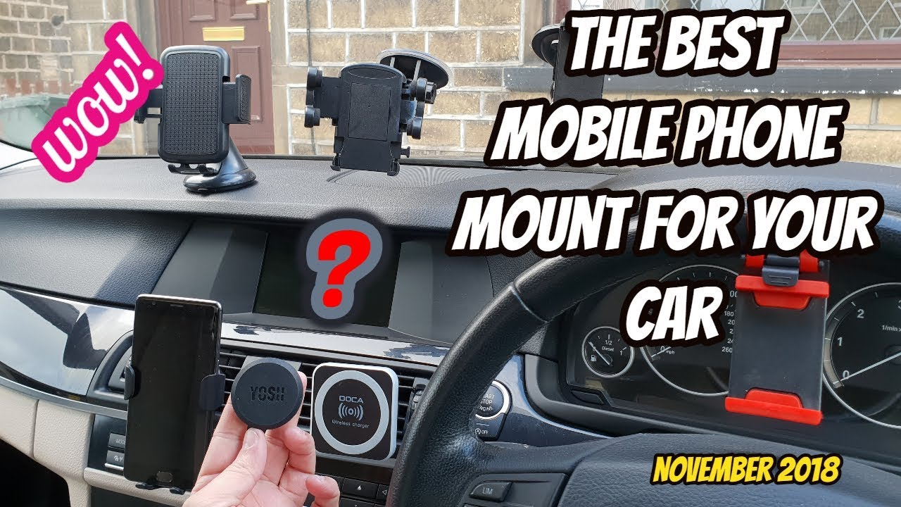 8d3b7c43b0c63 2018: The Best MOBILE Phone Car Mount / Holders / Qi Wireless Charger Review