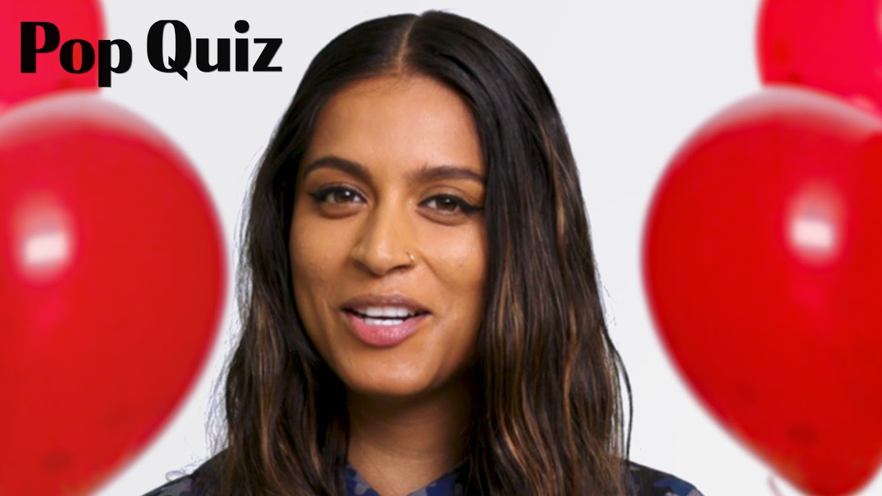 Lilly Singh | Pop Quiz | Marie Claire