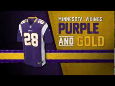 Minnesota Vikings uniform and uniform color history