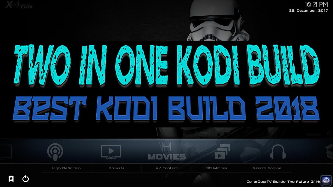 TWO IN ONE KODI BUILD BEST KODI BUILD by Bolt Plus