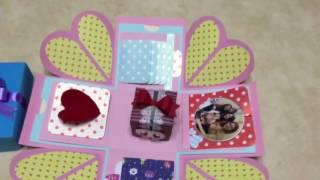閨蜜紀念日禮物盒+5個機關