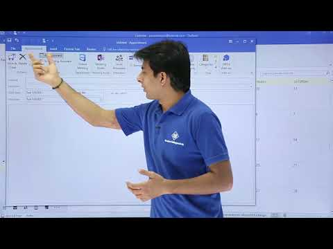 Ms Outlook - Create New Appointment