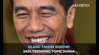 Gambar cover Ulang Tahun Jokowi Jadi Trending Topic Dunia