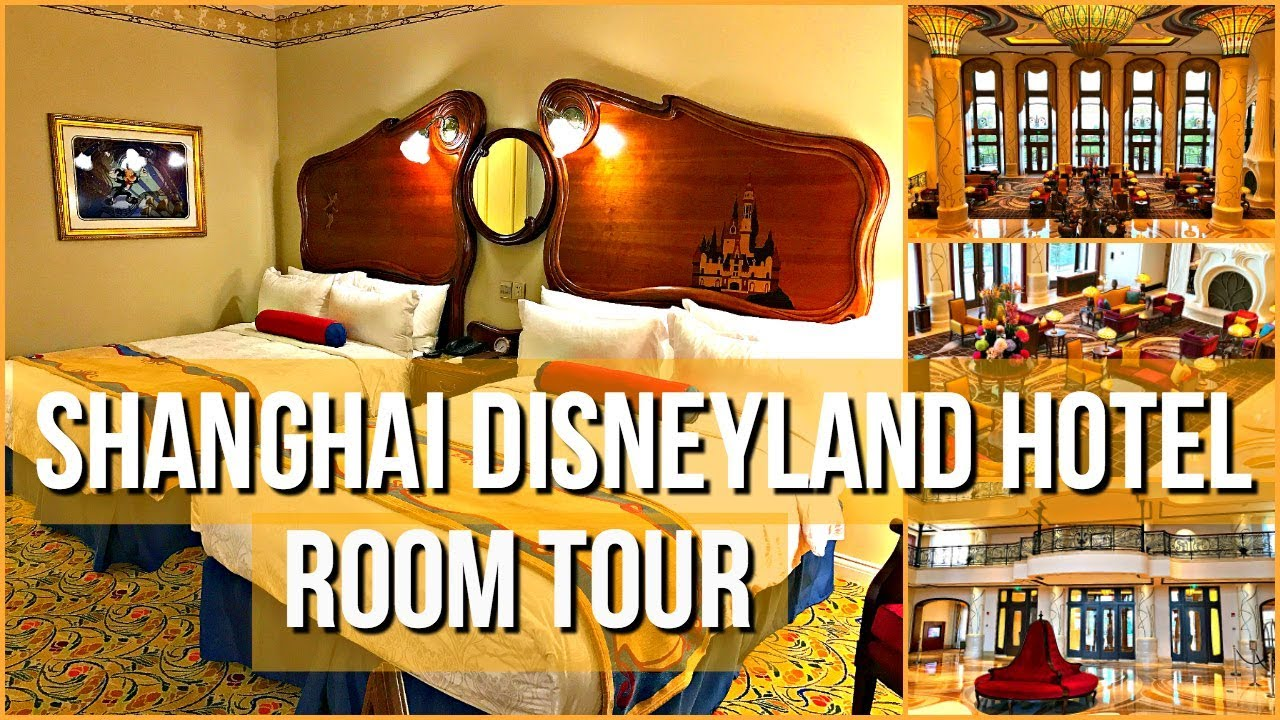 Shanghai Disneyland Hotel Deluxe Theme Park View Room